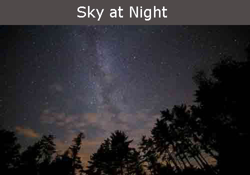 night sky in ravenstonedale